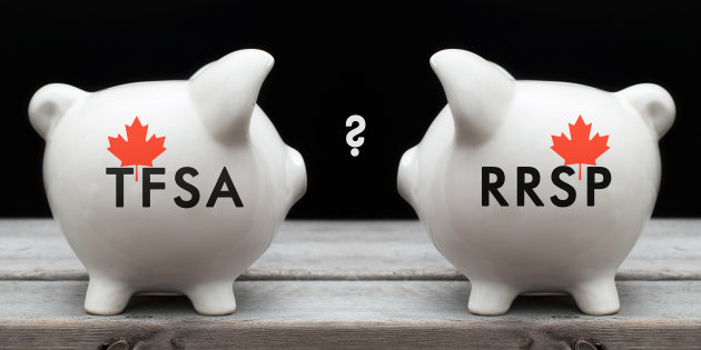 An RRSP or a TFSA? Where should you contribute your money?